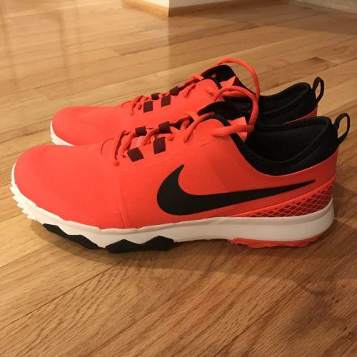 Nike FI Impact 2 Spikeless Golf Shoes US 8.5 Bright Crimson 776111-600