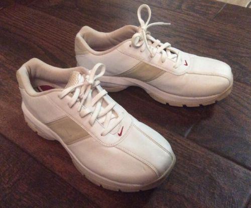 Women's Nike SP-3 Saddle 309888-161 White Golf Shoes Size 8 2006