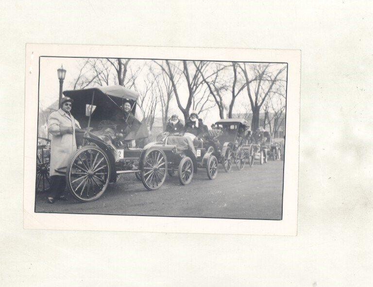 1945 Duryea 1895 Race ORIGINAL Photos Olds Curved Dash Sears High Wheeler ww7797