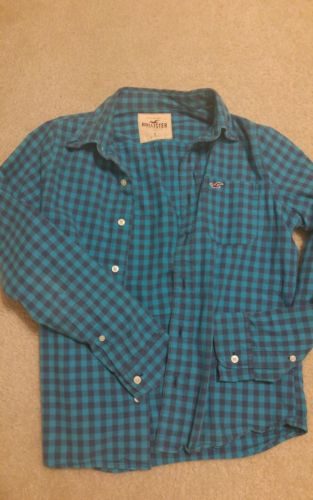 lot of 4 mens button down shirt small jcrew hollister