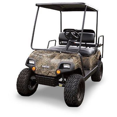 New Mossy Oak Graphics (10060-DB) Duck Blind 4 x 10 Roll Golf Cart Camouflage