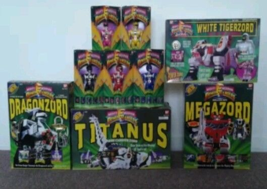 Mighty Morphin Power Rangers Lot - SEALED! Free shipping