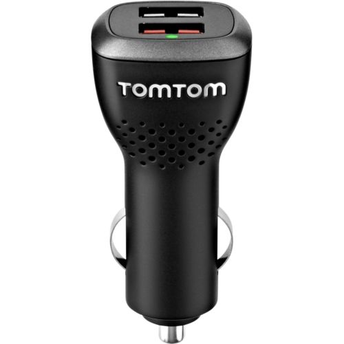 New TOMTOM 9UUC.001.22 TomTom High-Speed Dual Charger Universal USB dual car