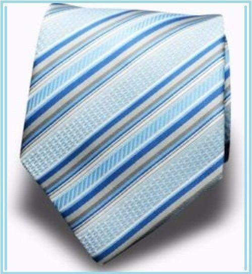 Men's Classic Dress Necktie Wedding Formal Blue