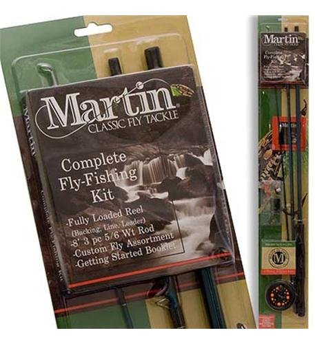Zebco Sales Co. LLC MARTIN COMPLETE FLY ROD KIT