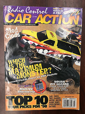 Vintage Radio Control Car Action magazine RCCA May 1998 RC