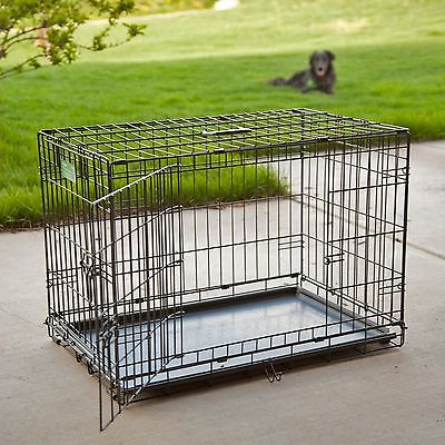 Dog Crate Door Double Folding Metal Midwest Inch Inches Pet Icrate Kennel Cage W