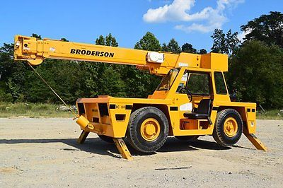 2006 Broderson IC80-3G Crane - W6007 Other Cranes