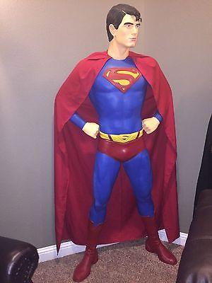 Superman Custom Life Size Statue Not Sideshow, XM, Prime 1