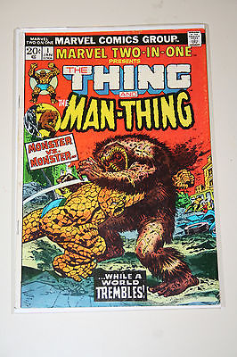 Marvel Two in One #1 Bronze Age Thing Man Thing 1st Issue! Key 1 of 2
