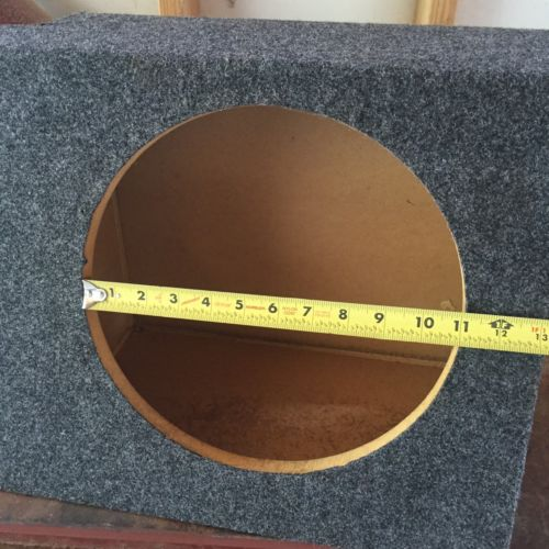 Single Cab Truck Speaker Box for 2 - 12's behind the seat