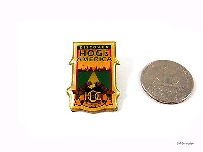 HOG Harley Owners Group Discover America Pin