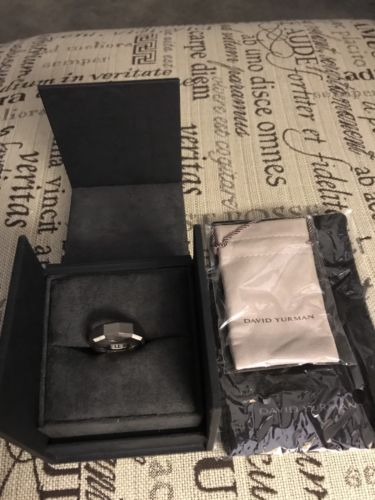 mens david yurman Titanium Ring