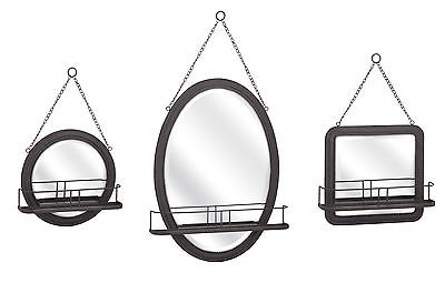 Imax Ella Set of 3 Elaine Shaving Mirrors 88922-3