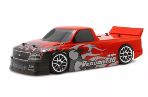NEW VINTAGE HPI VENOM T-10 1/10 RC Car Body Drift,Touring,On Road 200mm(clear)