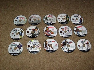 LOT # 59...15 PLAYSTATION 2 ...15 PS2 GAMES...PS2 GAME LOT OF 15..15 PS2 GAMES..