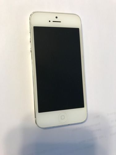 Iphone 5 16 Gb White With Silver Verizon