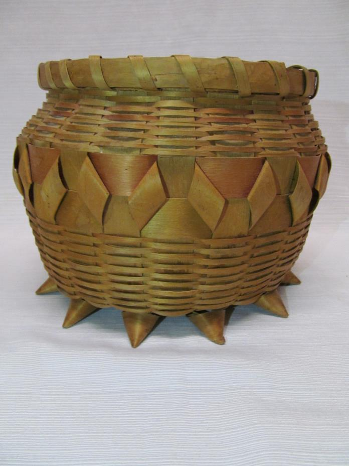 UNIQUE VINTAGE Wicker Basket