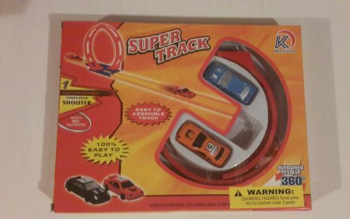 Mini Racing Car 2 Included With Racing Track - Fast Shipping