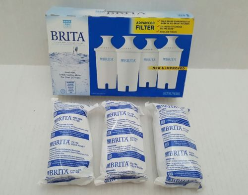 BRITA PITCHER 3 PACK WATER REPLACEMENT FILTERS
