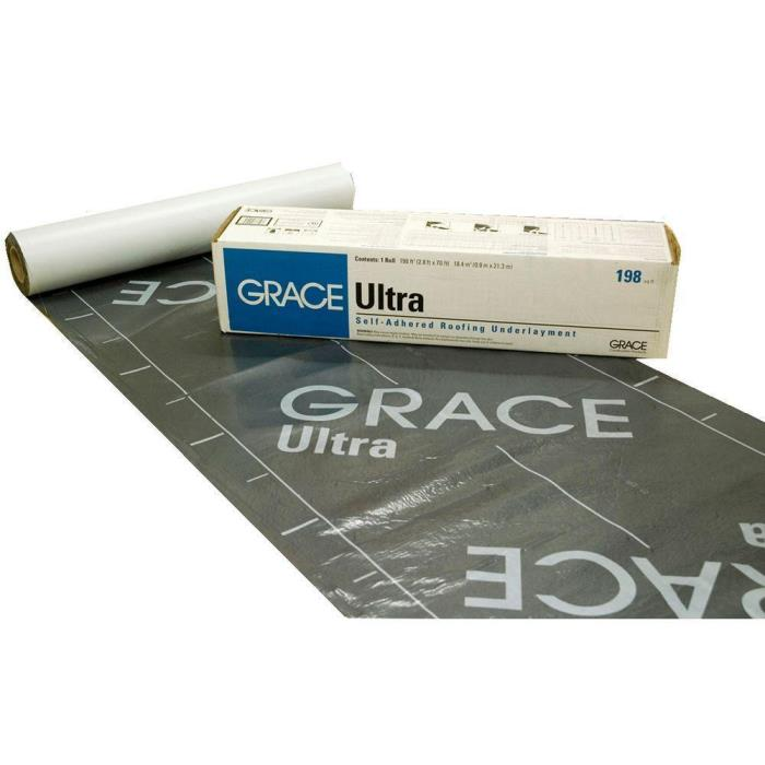 Grace Ultra Roll Roofing Underlayment Roof Deck Protection Asphalt Smooth New