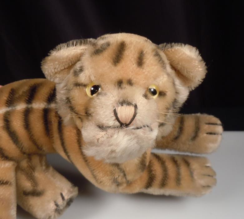 Vintage Steiff Plush Bengal Tiger