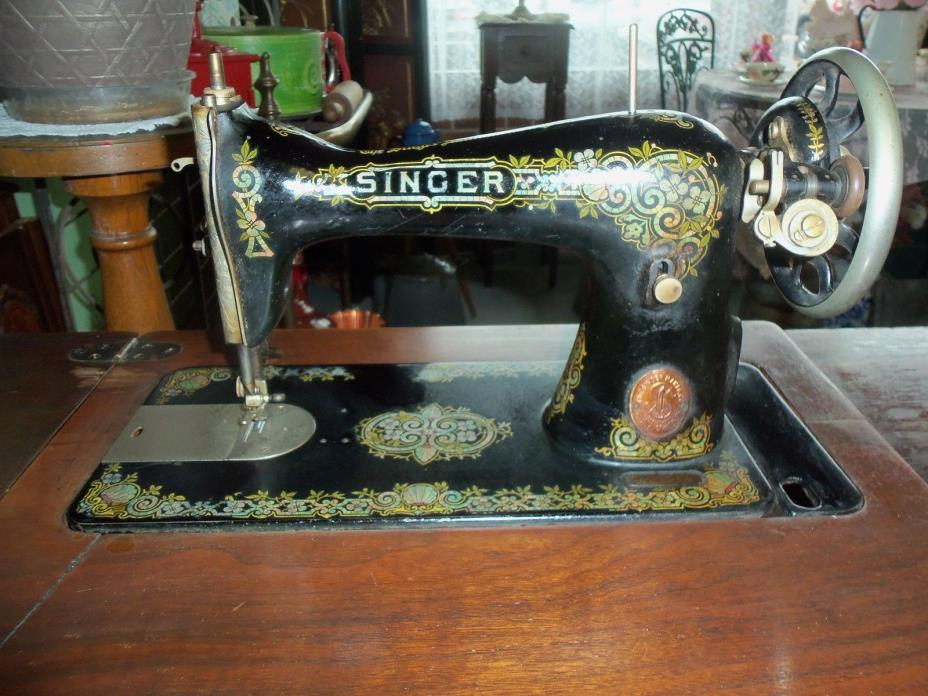 ANTIQUE SINGER SEWING MACHINE ca. 1880's