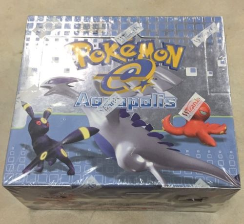 Pokémon Aquapolis Booster Box ~English~ SEALED!!!