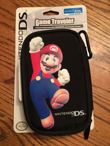 Nintendo DS Super Mario Bros Carrying Case Travel Case Game Accessory Brand NEW