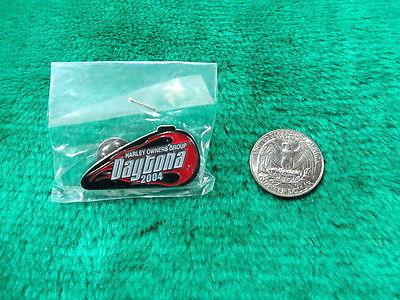 HOG Harley Owners Group Daytona 2004 Gas Tank Pin
