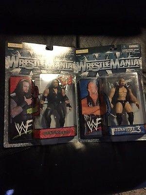 1998 NIP Stone Cold Steve Austin Wrestle Mania & Undertaker
