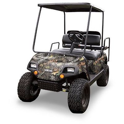 New Mossy Oak Graphics (10060-BU) Break-up 4 x 10 Roll Golf Cart Camouflage Kit