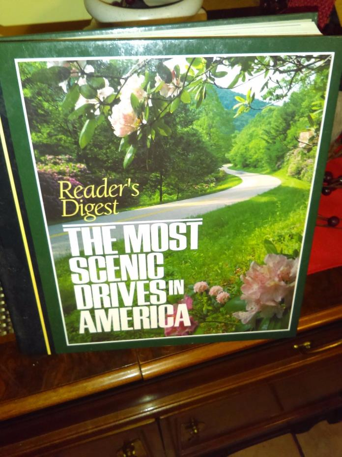 READER'S DIGEST THE MOST SCENIC DRIVES IN AMERICA HARDCOVER FREE SHIPPING