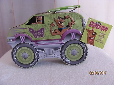 SCOOBY-DOO METAL LUNCH BOX -1999