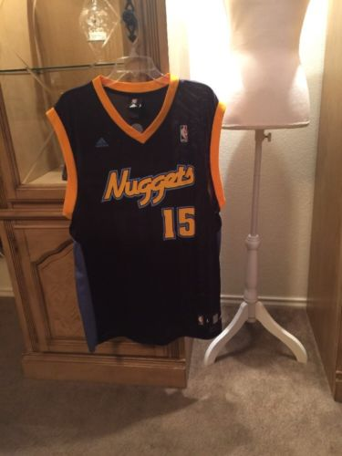 NBA Denver Nuggets #15 Anthony Size Large Men's Adidas Jersey