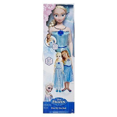 Disney Frozen Princess Elsa (My Size) Life Size Doll 38