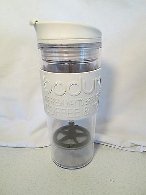 BODUM Starbucks INSULATED Plastic Travel French Press Coffee/Loose Tea Mug
