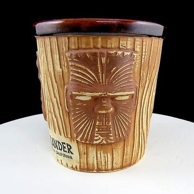 ISLANDER STOCKTON CALIFORNIA 3 FACED WOOD GRAIN BUCKET 4 1/4