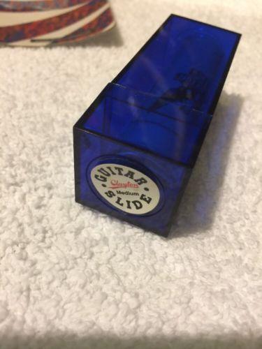 Clayton Standard Wall Guitar Slide Medium Blue