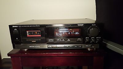 Denon DRM 700A 3 Heads Stereo Cassette Tape Deck