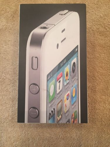 **Apple iPhone 4S White - ORIGINAL BOX ONLY**