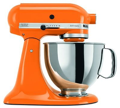 KitchenAid 5 Quart Artisan Stand Mixer - Tangerine Orange