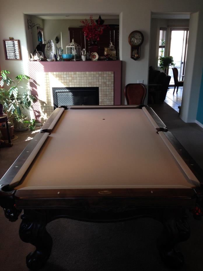 Connelly brand Scottsdale 9' pool table.  Condition is like brand new!