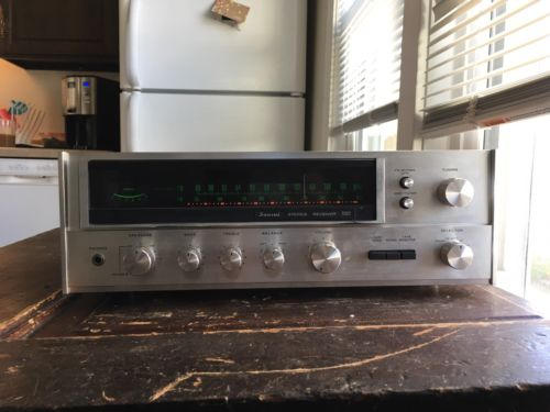 Sansui 551 Stereo Receiver - Recapped - New Outputs