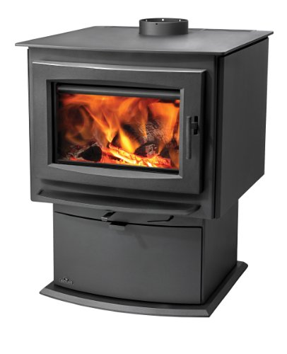 Napoleon S4 S Series Medium Wood Burning Stove Up to 70 000 BTUs Complete with