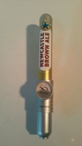 NewCastle  English Brown Ale Brew Lock System Beer Tap Handle - Tap Brewlock