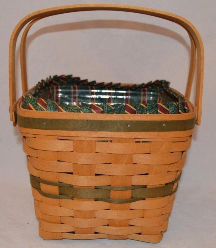 Longaberger 1995 Christmas Collection Cranberry Basket