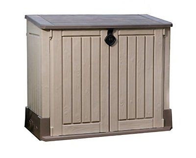 Keter Store-It-Out Storage Sheds MIDI Outdoor Resin Horizontal Storage Shed