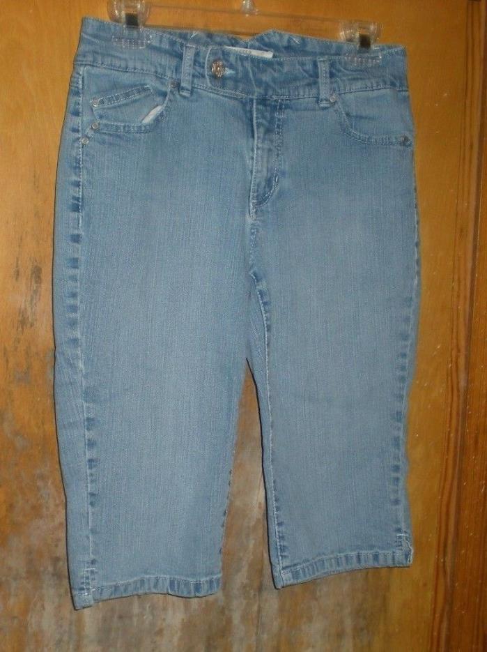 Jeanstar Blue Denim Shorts Size 6 - Longer Length