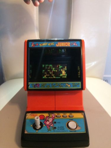 Original Donkey Kong Junior Battery Operated Table Top Machine